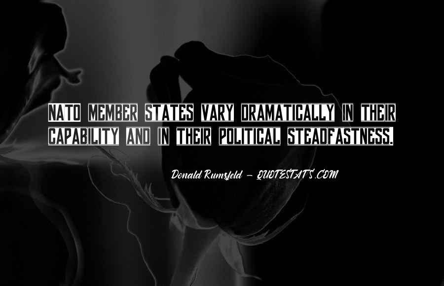 Donald Rumsfeld Quotes #782632