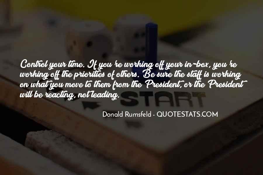 Donald Rumsfeld Quotes #840104