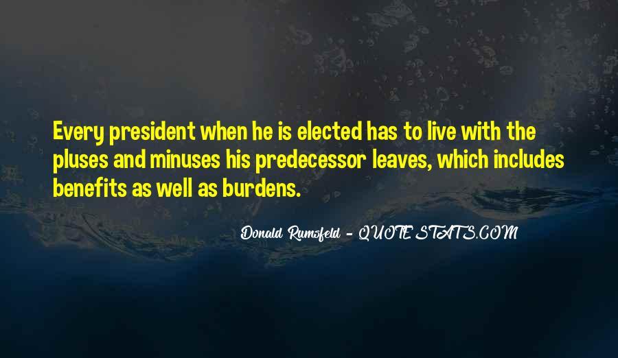 Donald Rumsfeld Quotes #898841