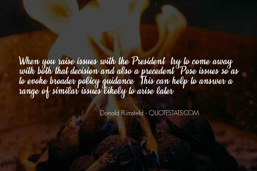 Donald Rumsfeld Quotes #962488