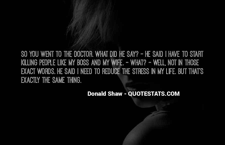 Donald Shaw Quotes #774911