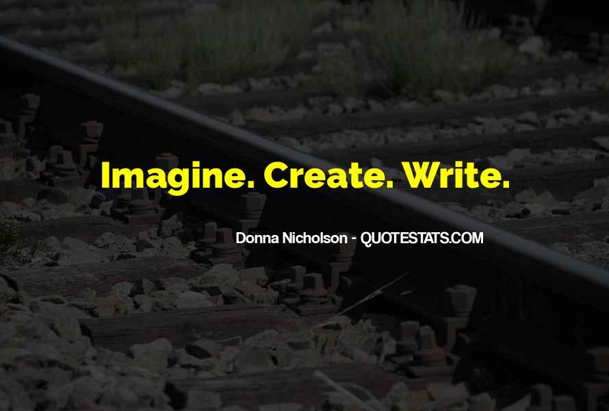Donna Nicholson Quotes #628115