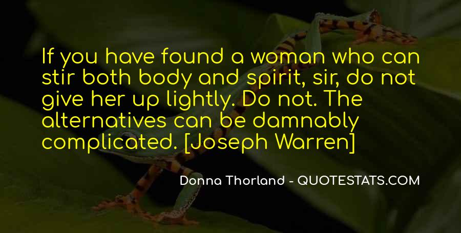Donna Thorland Quotes #58674