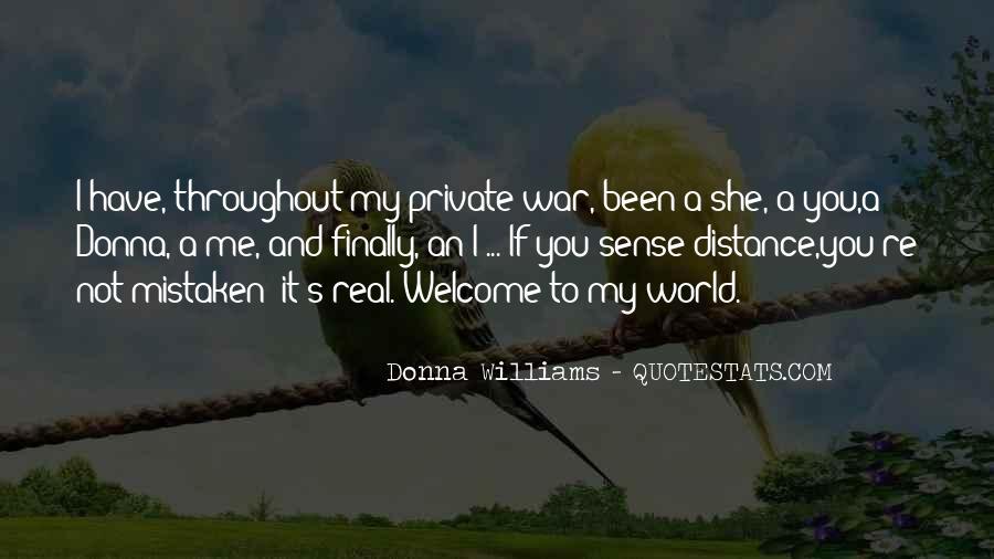 Donna Williams Quotes #419026
