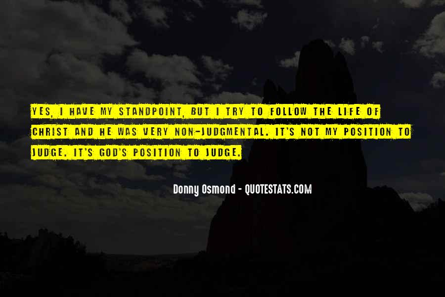 Donny Osmond Quotes #1021346