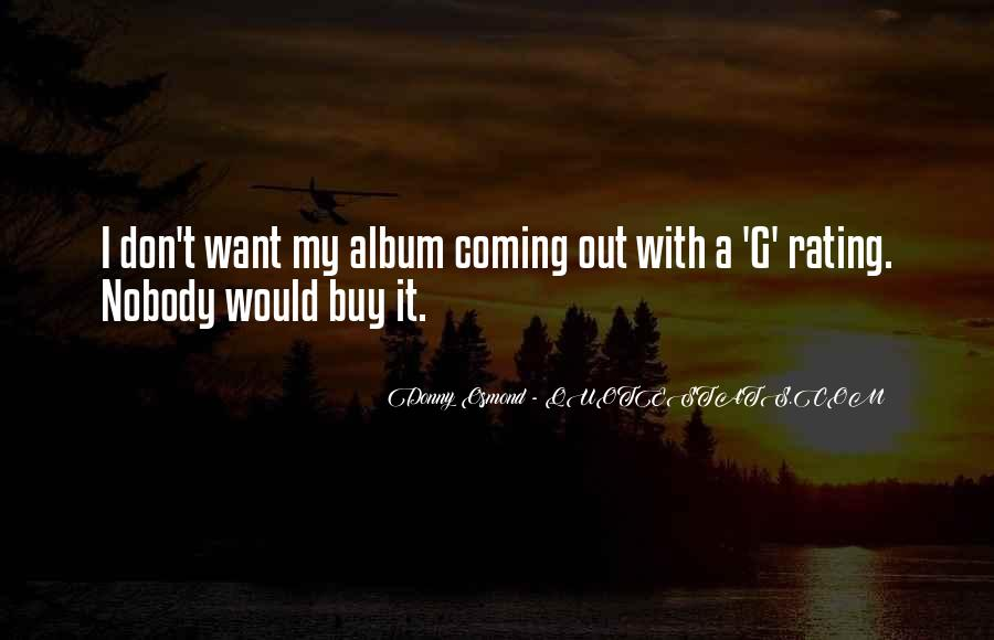 Donny Osmond Quotes #1038055