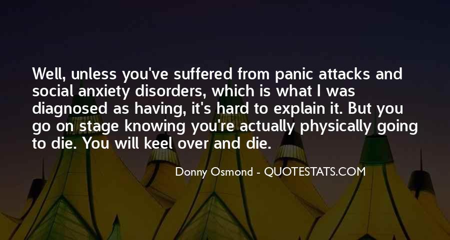 Donny Osmond Quotes #1387365