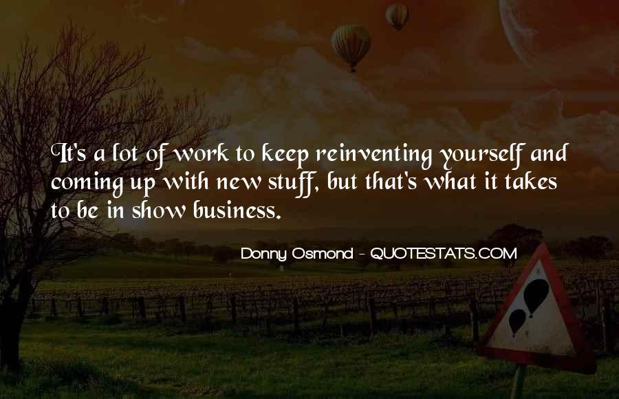 Donny Osmond Quotes #1400755