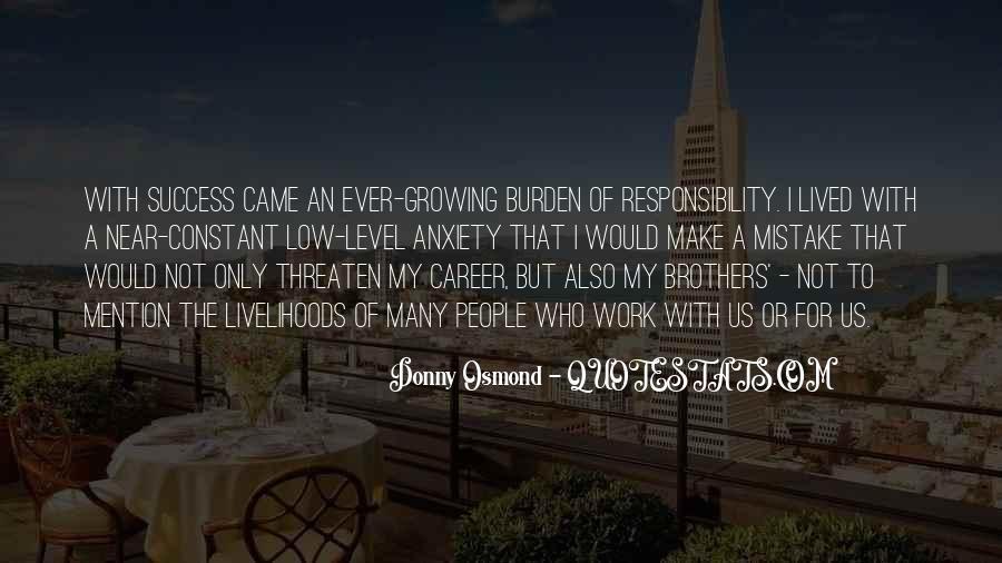 Donny Osmond Quotes #1688253