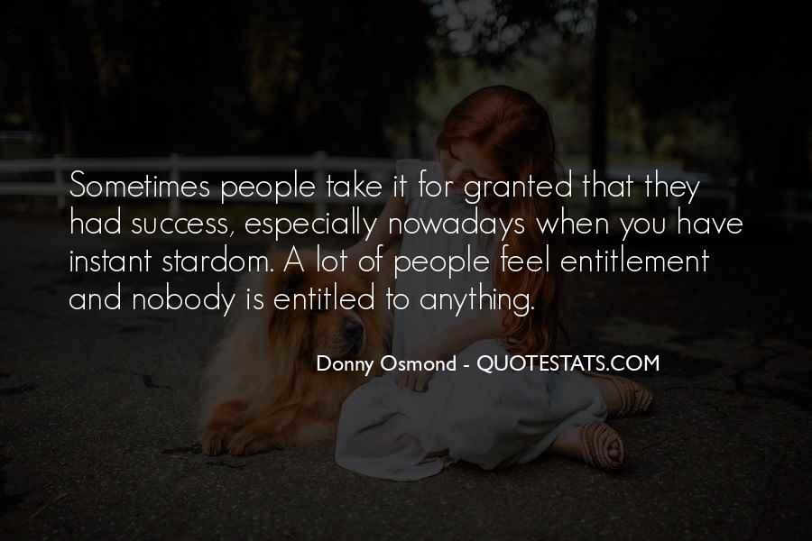 Donny Osmond Quotes #1777151