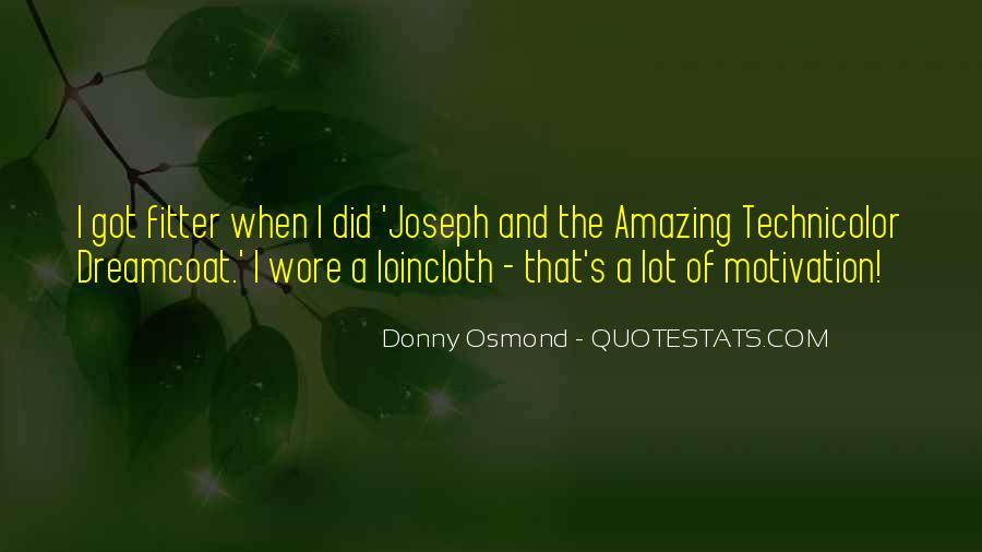 Donny Osmond Quotes #210872