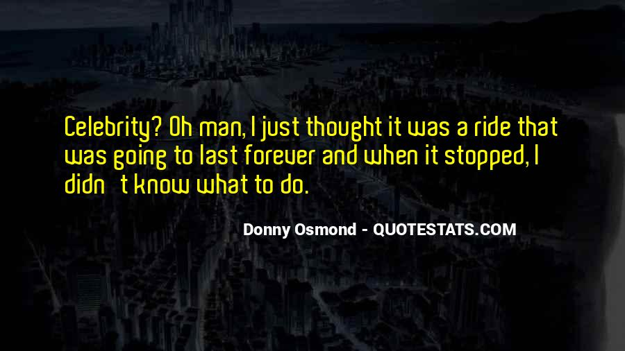 Donny Osmond Quotes #264252