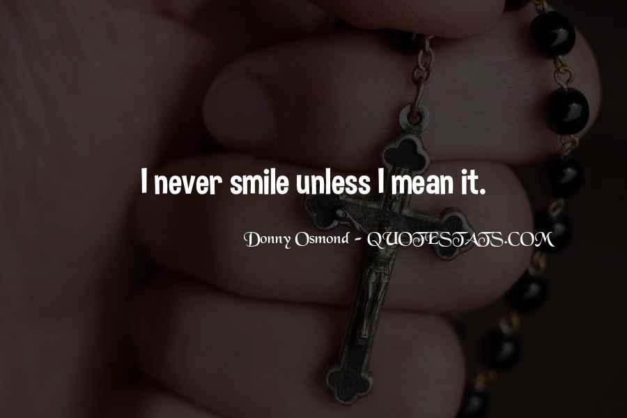 Donny Osmond Quotes #293669
