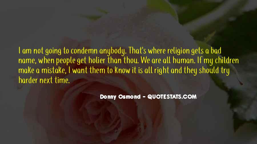 Donny Osmond Quotes #565808