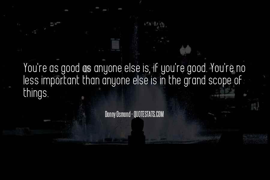 Donny Osmond Quotes #570507