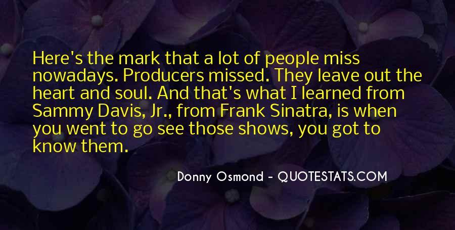 Donny Osmond Quotes #578522