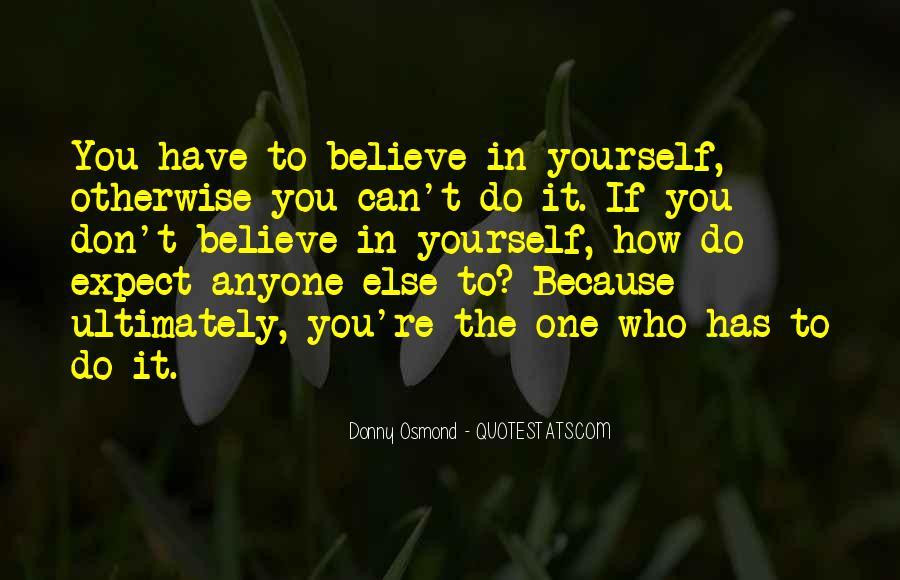Donny Osmond Quotes #620182