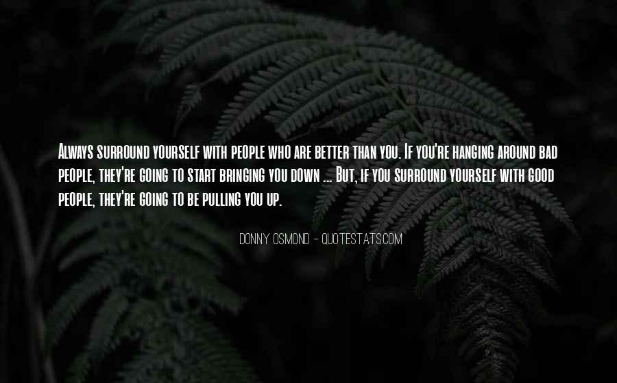Donny Osmond Quotes #626687