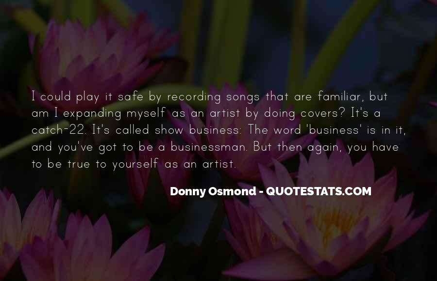Donny Osmond Quotes #747233