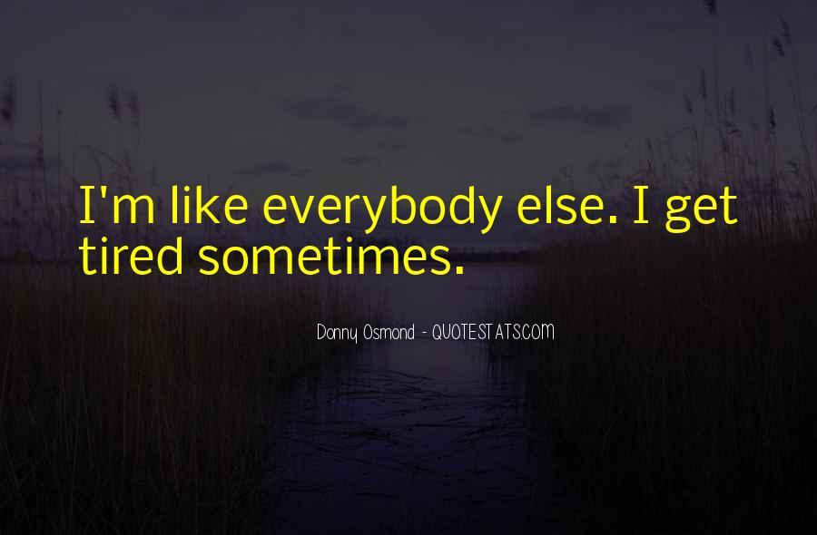 Donny Osmond Quotes #747538