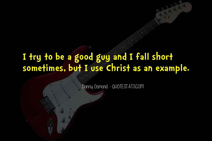 Donny Osmond Quotes #964454