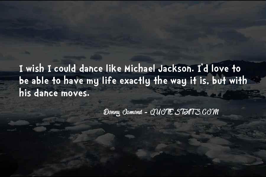 Donny Osmond Quotes #972901