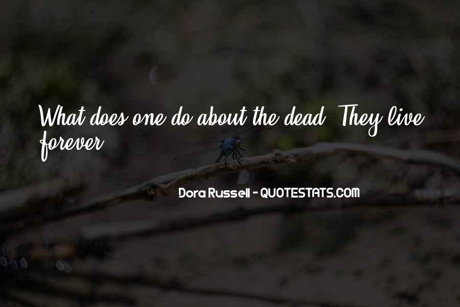 Dora Russell Quotes #1128620