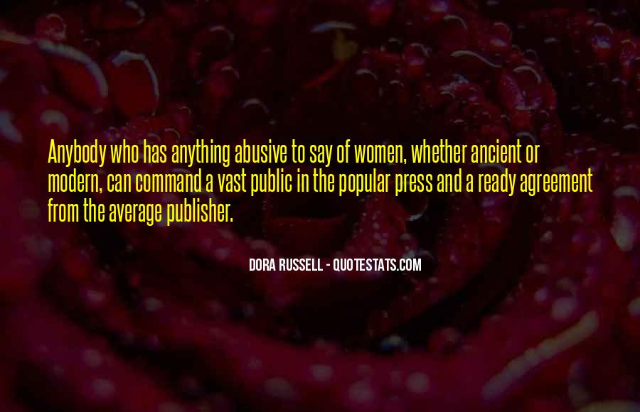Dora Russell Quotes #1470727
