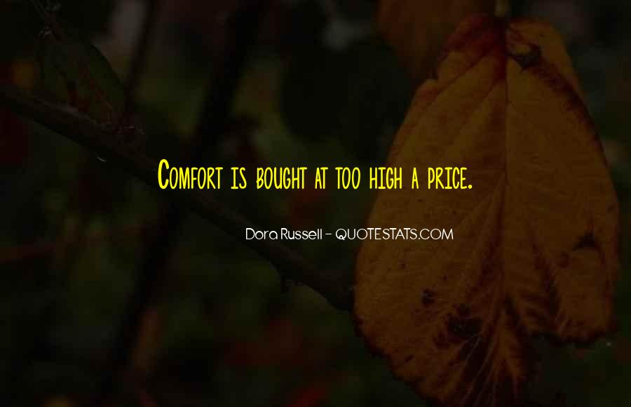 Dora Russell Quotes #352293