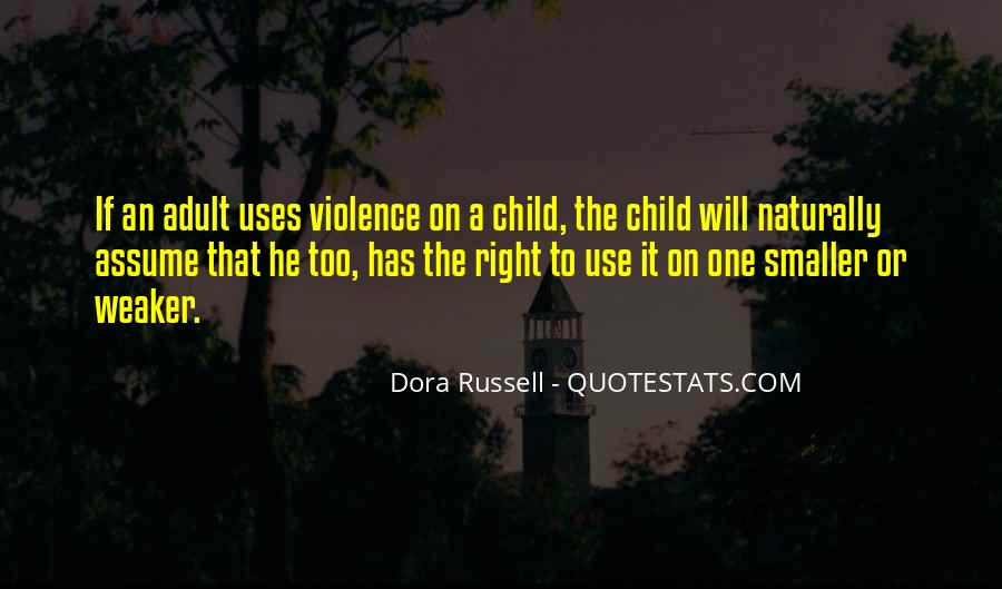 Dora Russell Quotes #930821