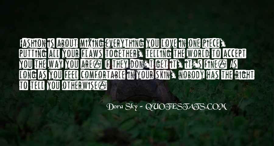 Dora Sky Quotes #1586777