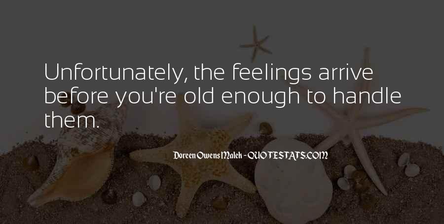 Doreen Owens Malek Quotes #1180209