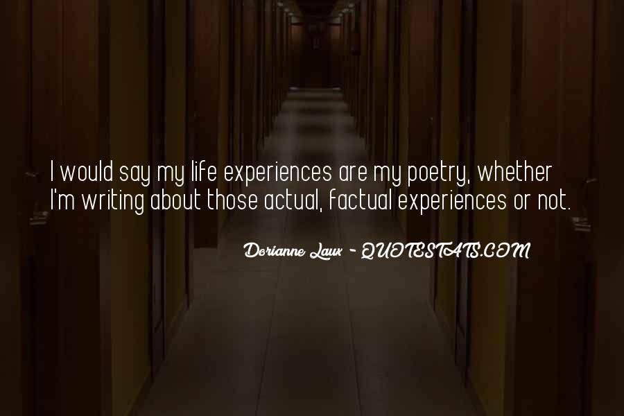 Dorianne Laux Quotes #1833732