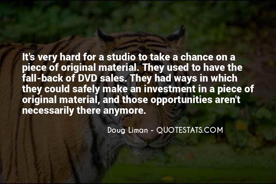 Doug Liman Quotes #1470920