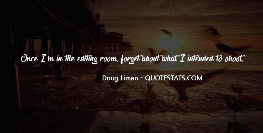 Doug Liman Quotes #36542