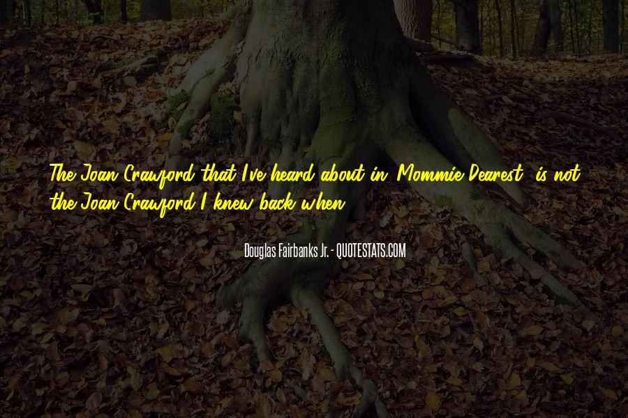 Douglas Fairbanks Jr. Quotes #166380
