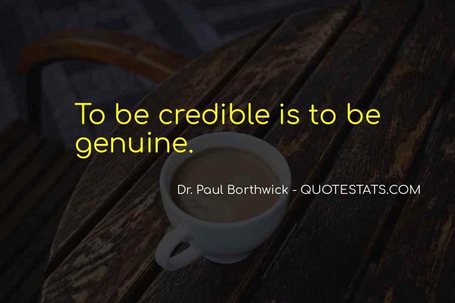 Dr. Paul Borthwick Quotes #1753992