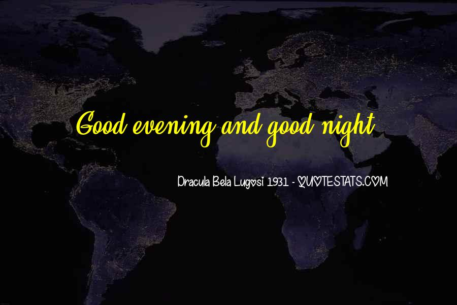 Dracula Bela Lugosi 1931 Quotes #1476271