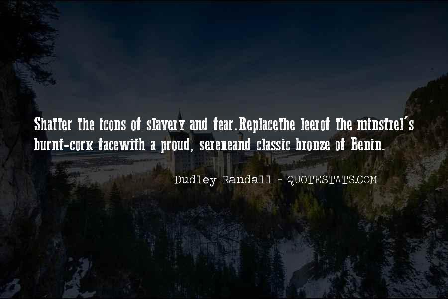 Dudley Randall Quotes #1758889