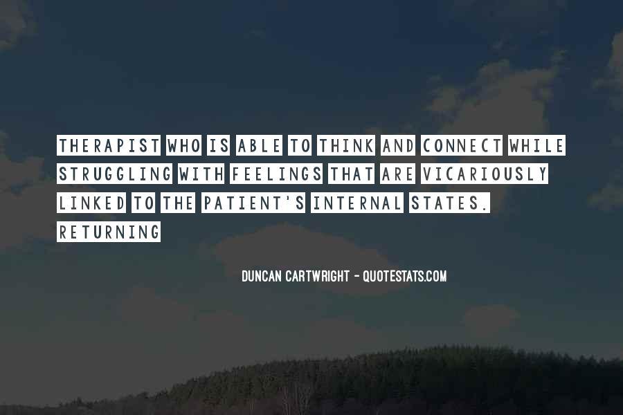 Duncan Cartwright Quotes #343804