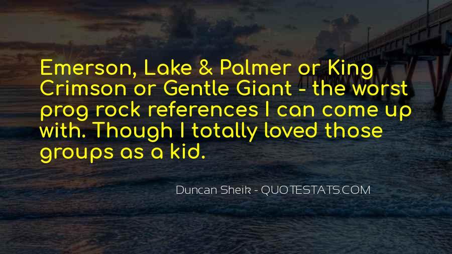 Duncan Sheik Quotes #1329804