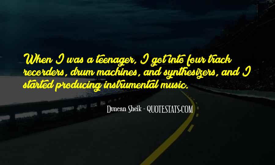 Duncan Sheik Quotes #1738136