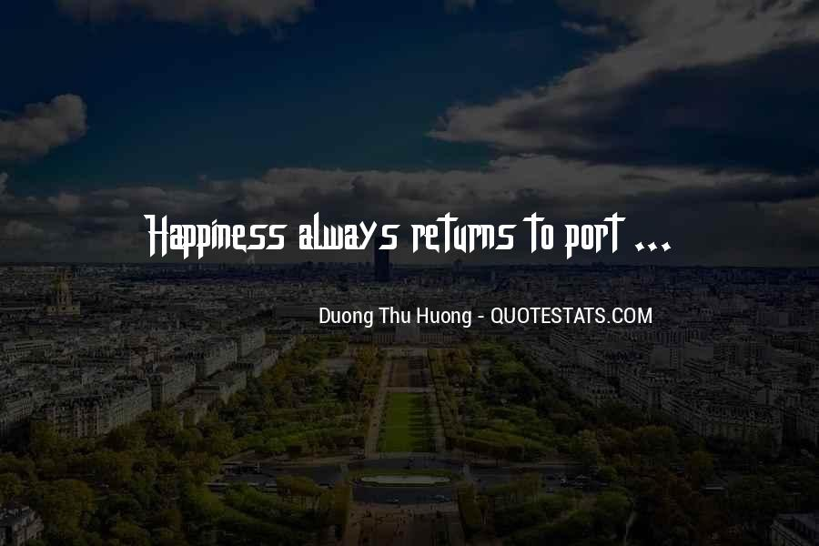 Duong Thu Huong Quotes #860596