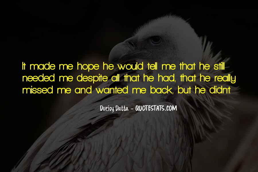 Durjoy Datta Quotes #1736621
