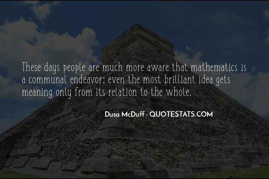 Dusa McDuff Quotes #627309