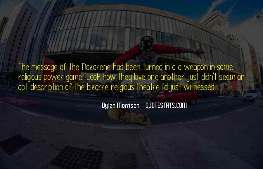 Dylan Morrison Quotes #362446