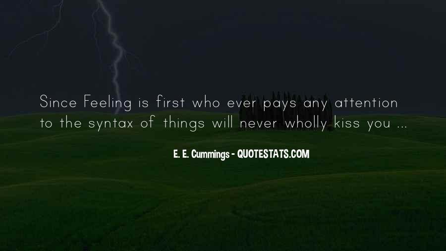 E. E. Cummings Quotes #1351549