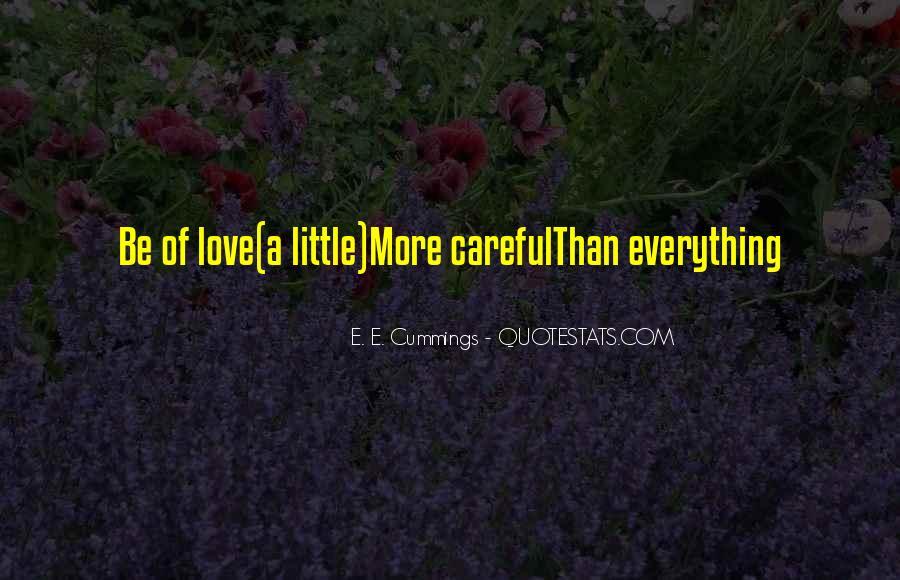 E. E. Cummings Quotes #139226
