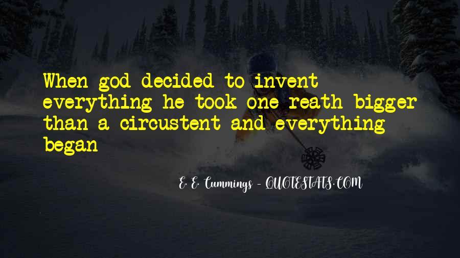 E. E. Cummings Quotes #1439642