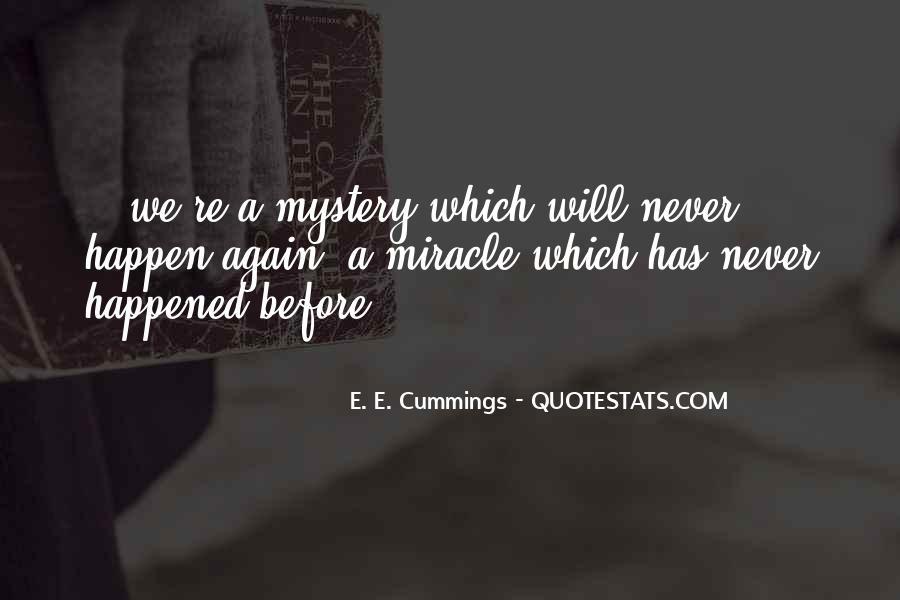 E. E. Cummings Quotes #1510935